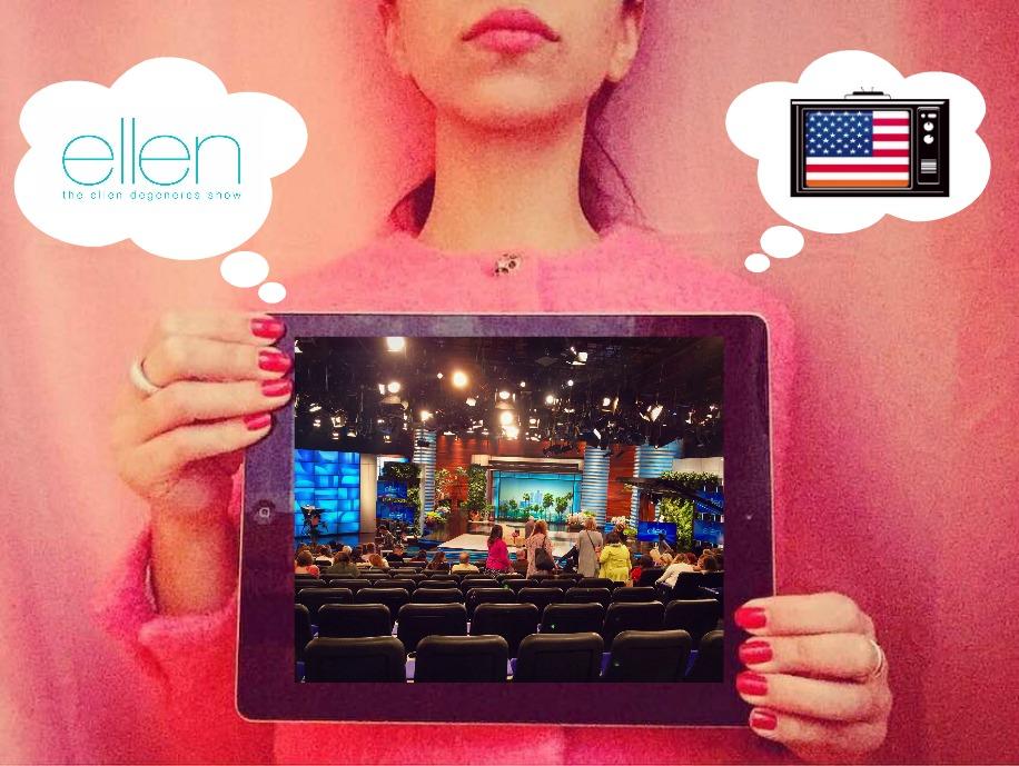 ASSISTER À L'ÉMISSION TV AMÉRICAINE ELLEN DEGENERES SHOW