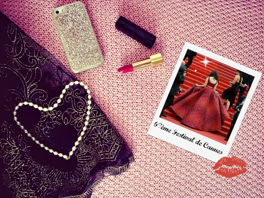 Stars instagram Kristina Bazan Festival de Cannes